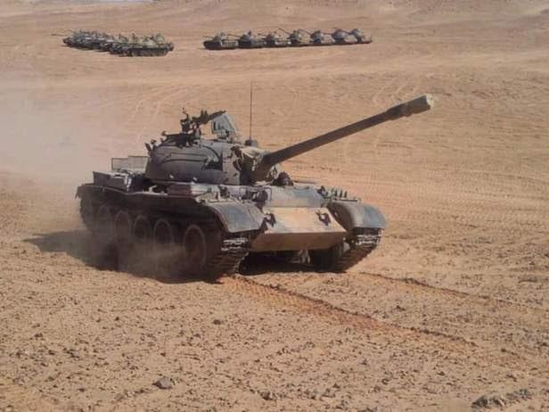 GUERRA EN EL SAHARA | Parte de guerra Nº113