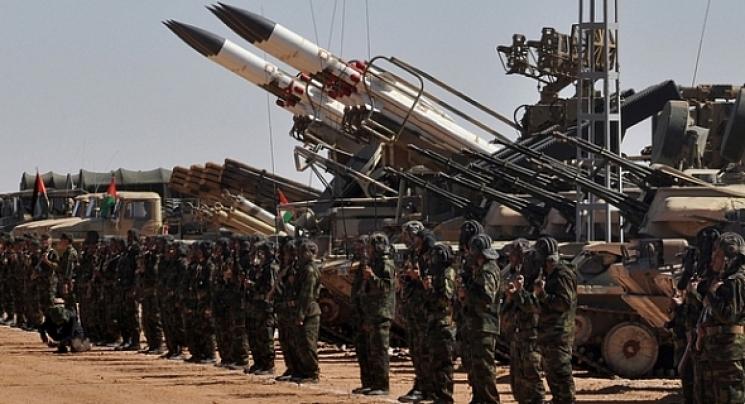 El ELPS continúa bombardeando a guarniciones y atrincheramientos de las fuerzas de ocupación a lo largo del muro militar marroquí | Sahara Press Service