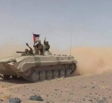GUERRA EN EL SAHARA | Parte de guerra Nº112
