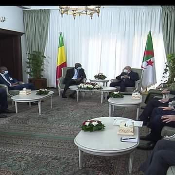 Abdelmadjid Tebboune renueva el compromiso de Argelia de ayudar a Malí a restaurar la estabilidad | Sahara Press Service
