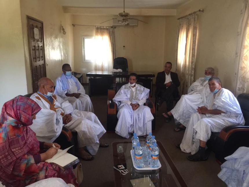 Le parti mauritanien UFP réitère son soutien inconditionnel au peuple sahraoui | Sahara Press Service