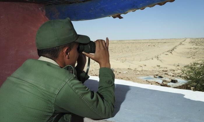 Marruecos hace realidad la sugerencia de Trump a Borrell, y construye un nuevo muro en el Sáhara