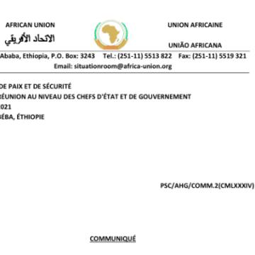 Communique de la 984eme réunion du CPS tenue le 9 mars 2021, sur le suivi de la mise en œuvre du paragraphe 15 de la décision sur Faire taire les armes du 14eme Sommet extraordinaire – Western Sahara | ReliefWeb