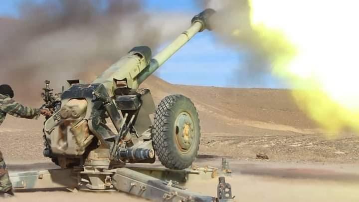 GUERRA EN EL SAHARA | Parte de guerra Nº141