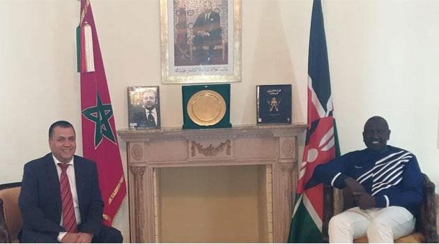 SAHARA OCCIDENTAL | El vicepresidente de KENIA William Ruto ha desautorizado las afirmaciones del embajador de Marruecos en Kenia de que apoya el plan de autonomía marroquí