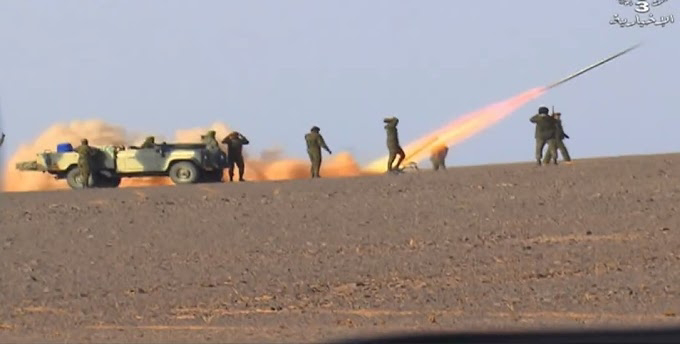 GUERRA EN EL SAHARA | Parte de guerra Nº156