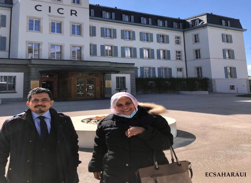 A Sahrawi delegation meets with International Committee of the Red Cross in Geneva — Sahara Press Service