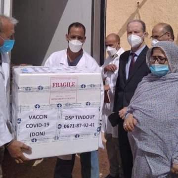 """«Llegada de las primeras vacunas a los campamentos de refugiados saharauis"""""""
