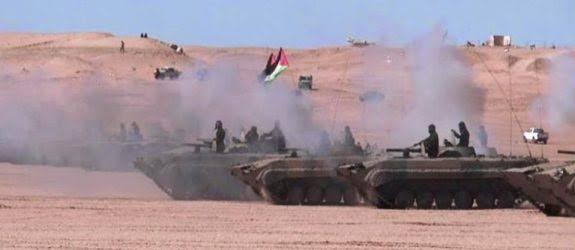 Prosiguen los bombardeos del ELPS contra los atrincheramientos del enemigo por ciento cuarenta y un días consecutivos | Sahara Press Service