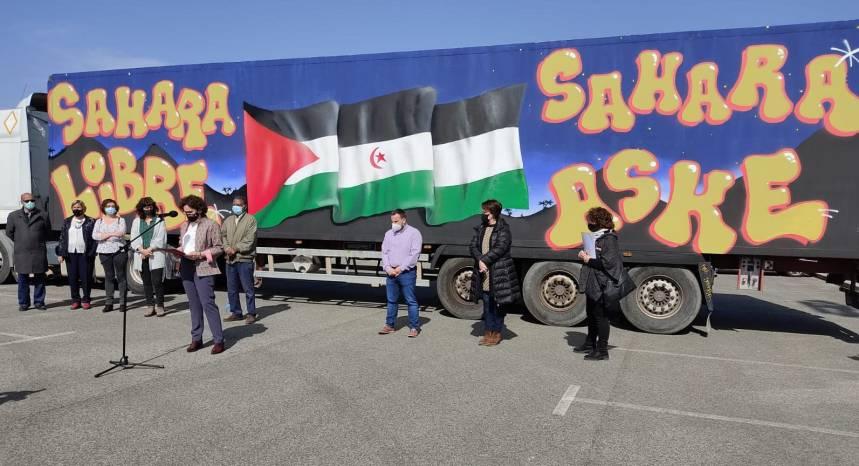 Solidaridad navarra se moviliza para el envío de ayudas a los campamentos de refugiados saharauis   Sahara Press Service