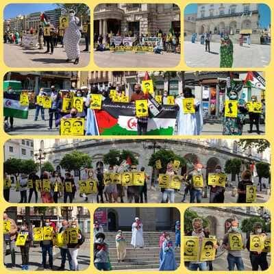 Concentraciones en España para exigir la inmediata liberación de los presos políticos saharauis | Sahara Press Service