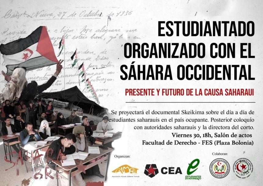CEA ORGANIZA UN ACTO EN SOLIDARIDAD CON EL SÁHARA OCCIDENTAL | Sahara Press Service