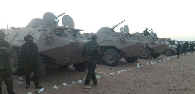 GUERRA EN EL SAHARA   Parte de guerra Nº195
