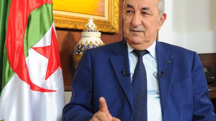El presidente de Argelia analiza con el primer ministro italiano la situación en el Sáhara Occidental