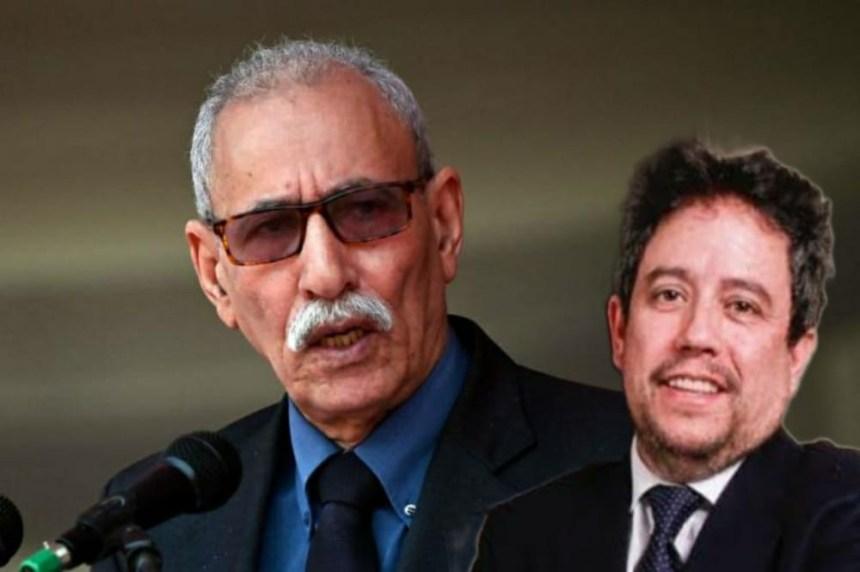 Amparado en la indestructible superioridad moral de su causa, Ghali renuncia a la inmunidad diplomática