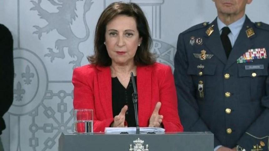 La ministra de defensa carga con dureza contra Marruecos: «Usar niños para burlar fronteras es inaceptable»