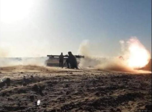 GUERRA EN EL SAHARA   Parte de Guerra Nº200