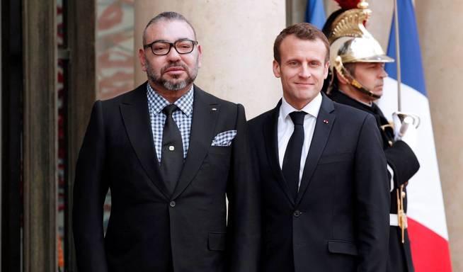 La crisis de Ceuta obliga a Macron a modular su alianza con Mohamed VI
