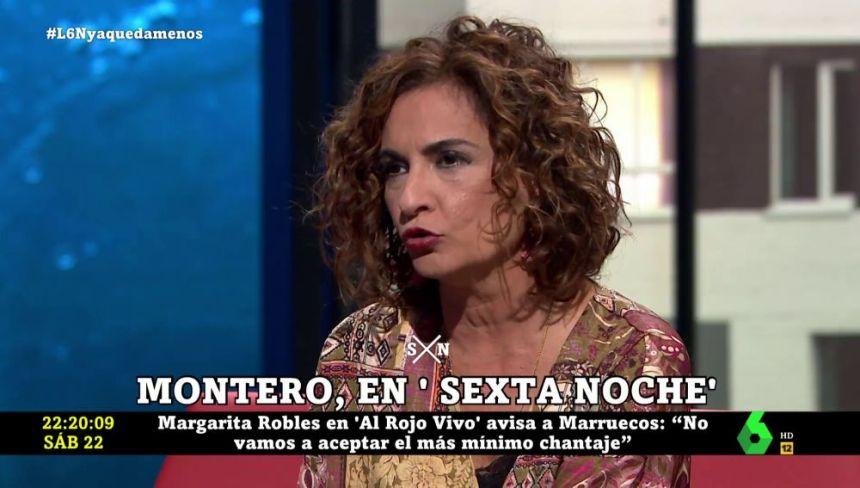 La Ministra española de Hacienda recrimina a Pablo Casado sus reuniones con partidos marroquíes que quieren anexionarse Ceuta y Melilla