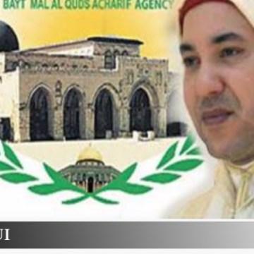 ¿Y donde está el presidente del Comité Al-Quds, el rey de Marruecos, autoproclamado responsable de velar por los lugares sagrados musulmanes de Jerusalem – القـُدْس (Al-Quds)?