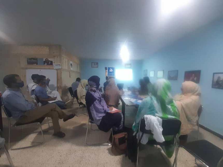 El Ministerio de Juventud y Deportes organiza jornadas de capacitación para el personal | Sahara Press Service