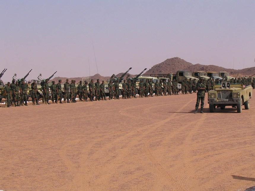 El ELPS ataca posiciones enemigas en Farsía y Mahbes en el muro militar marroquí | Sahara Press Service
