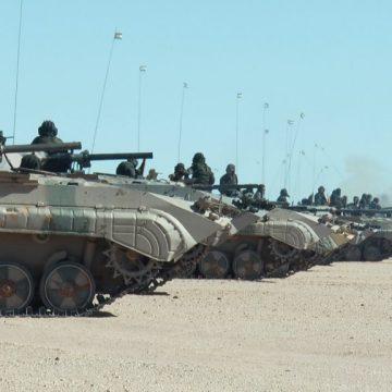 GUERRA EN EL SAHARA   Parte de Guerra Nº218