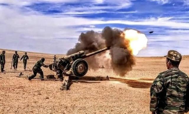 GUERRA EN EL SAHARA | Parte de Guerra Nº220