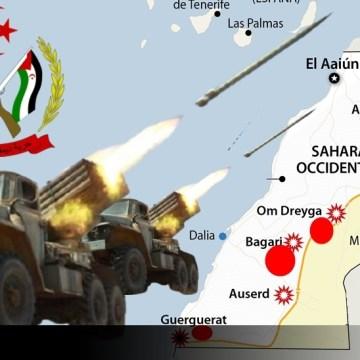Según la defensa saharaui, el ejército marroquí ha sufrido graves pérdidas en vidas y material bélico