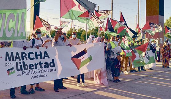 La marcha por la libertad del pueblo saharaui – Mundo Obrero