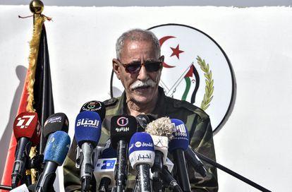 Y el líder del Frente Polisario abandonó España   Contramutis