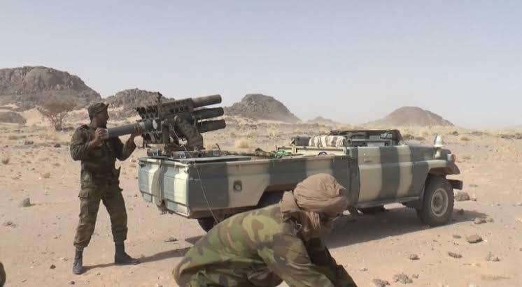 GUERRA EN EL SAHARA | Parte de Guerra Nº203
