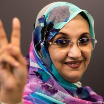 Una plaza de Sevilla llevará el nombre de la activistas saharaui Aminatou Haidar | Sahara Press Service