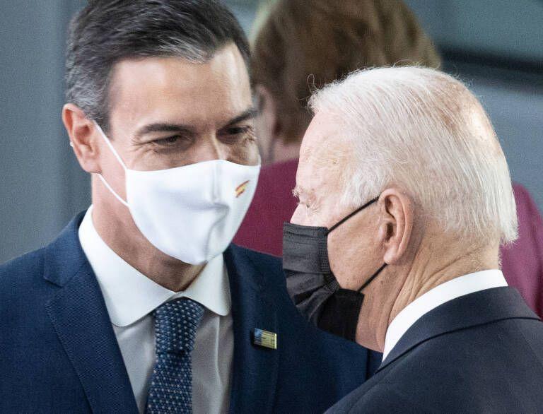 Pedro Sánchez y Joe Biden no hablaron del Sáhara Occidental   Contramutis