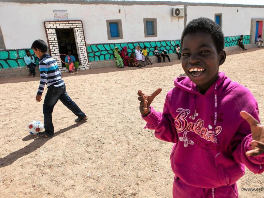 Tres entidades de Cadis Huesca apadrinan a 18 menores saharauis con discapacidad