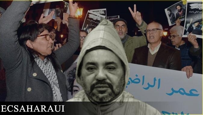 Marruecos, en el epicentro de las condenas internacionales por la falta de libertad de expresión y derechos fundamentales