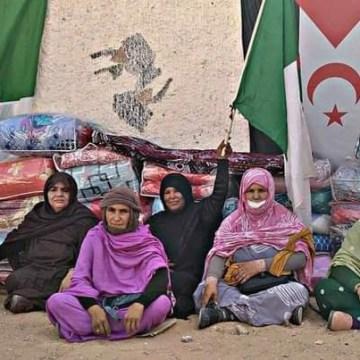 Refugiados saharauis lanzan una campaña para recaudar material para los afectados por los incendios en Argelia