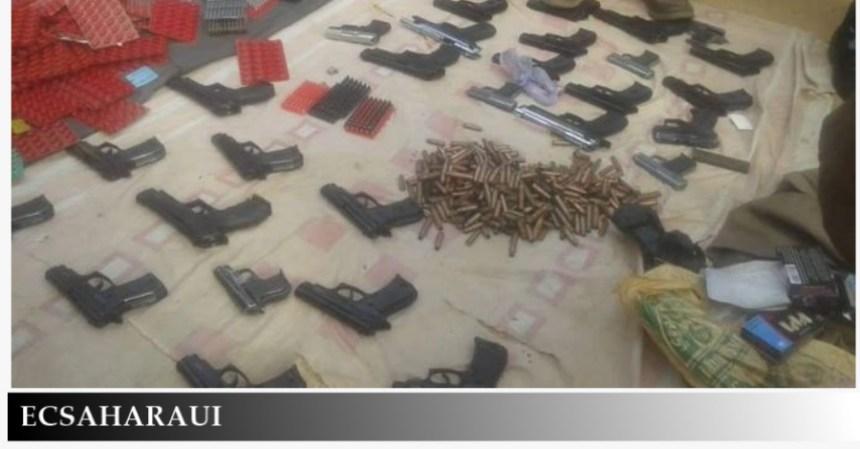 Contrabando de armas: Aduanas de Mauritania intercepta un camión marroquí cargado con armas y munición que entró en el territorio a través de Guerguerat