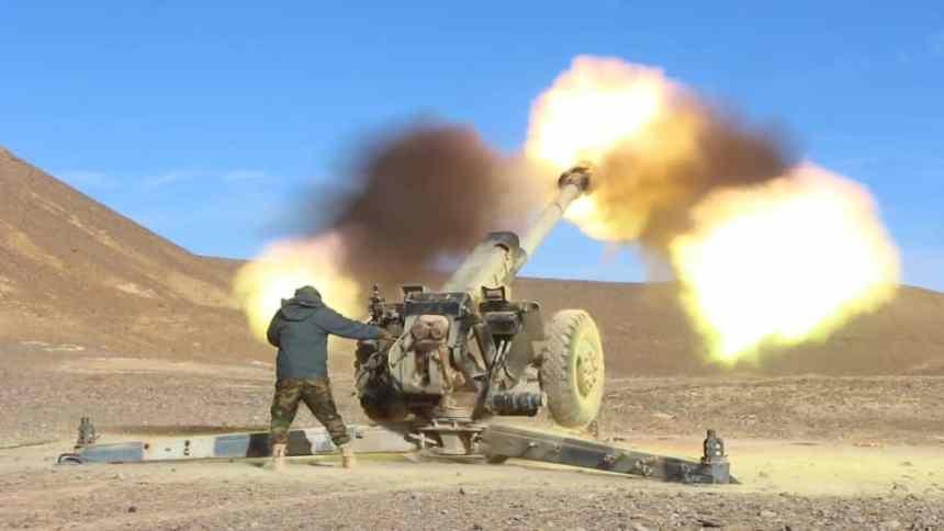Unidades del ELPS atacan las posiciones enemigas en la región de Sabjat Al-akarich, en el sector de Smara | Sahara Press Service