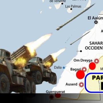 GUERRA EN EL SAHARA   Parte de Guerra Nº 298