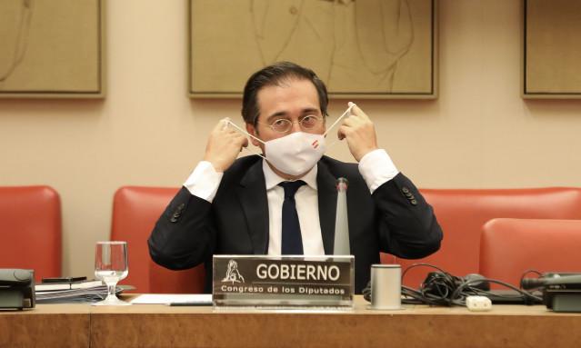 El ministro de exteriores de España se reunirá el miércoles con su homólogo marroquí por vía telemática