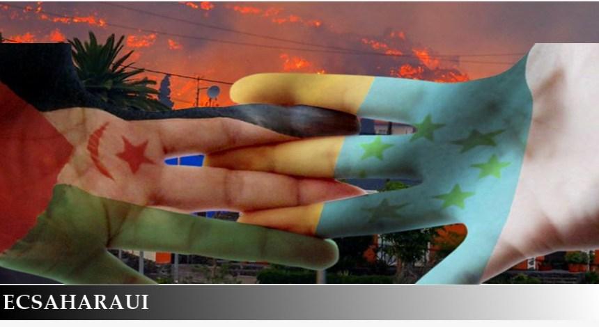 La Palma: El pueblo saharaui se solidariza con el pueblo canario