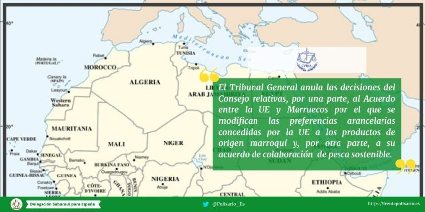 Convocatoria de rueda de prensa del abogado del Frente Polisario y el representante para Europa y la Unión Europea