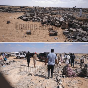 Solidarité Maroc التضامن المغرب: Les forces d'occupation marocaines démolissent 100 maisons sahraouies, près d'El Aaiun