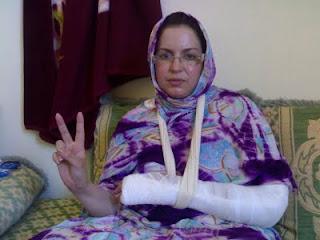 La propuesta de Sultana Jaya al premio Sajarov, un reconocimiento a las mujeres saharauis que se enfrentan al régimen marroquí   Contramutis