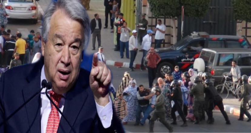 DD.HH: Guterres pide que se aborden las cuestiones pendientes en el Sáhara Occidental y la reanudación del programa de misiones técnicas del ACNUR