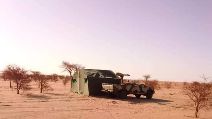 Auserd y Hauza bajo fuego saharaui: una base marroquí bombardeada se incendia durante varias horas