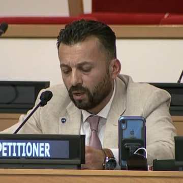 En su intervención ante la Cuarta Comisión de ONU, un opositor marroquí defiende la causa saharaui y expone el rostro oculto del régimen de Marruecos
