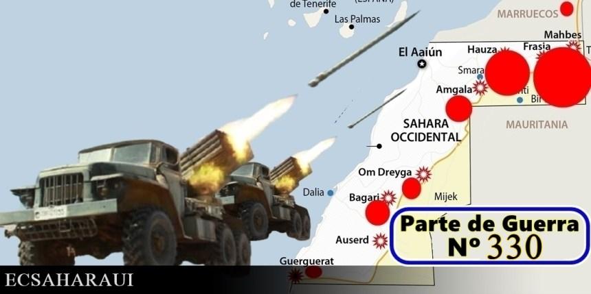 GUERRA EN EL SAHARA | Parte de Guerra Nº 332