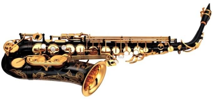 alat musik modern saksofon
